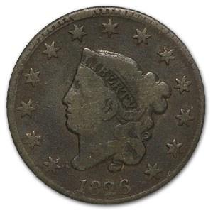 1826 Large Cent VG