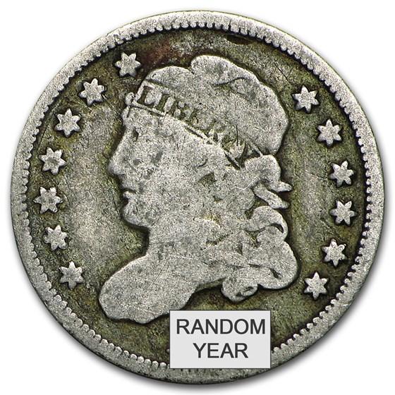 1829-1837 Capped Bust Half Dimes Avg Circ
