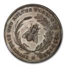 1829-30 German Silver Nurnberg Medal MS-63 PCGS