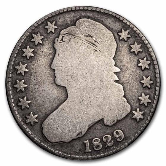 1829 Bust Half Dollar Good (Sm Letters)
