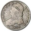 1829 Bust Half Dollar VG (Sm Letters)