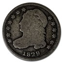 1829 Capped Bust Dime AG