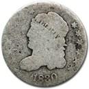 1830 Half Dime AG