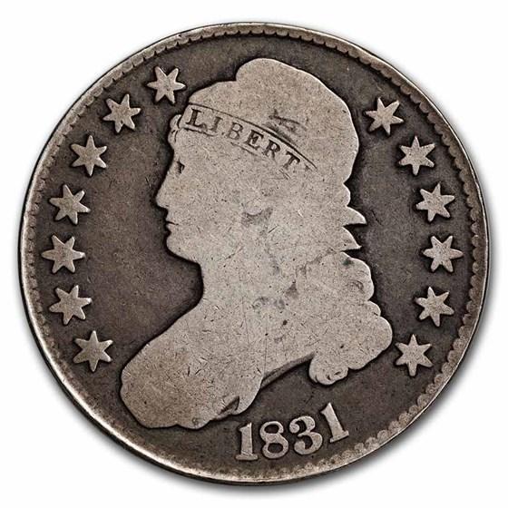 1831 Bust Half Dollar VG
