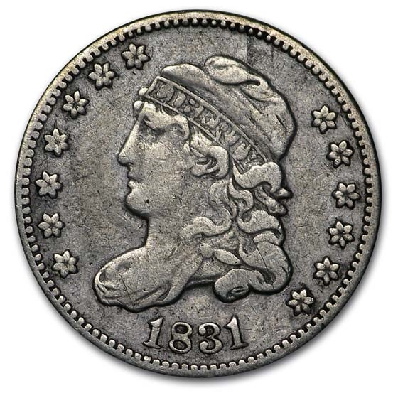 1831 Capped Bust Half Dime XF
