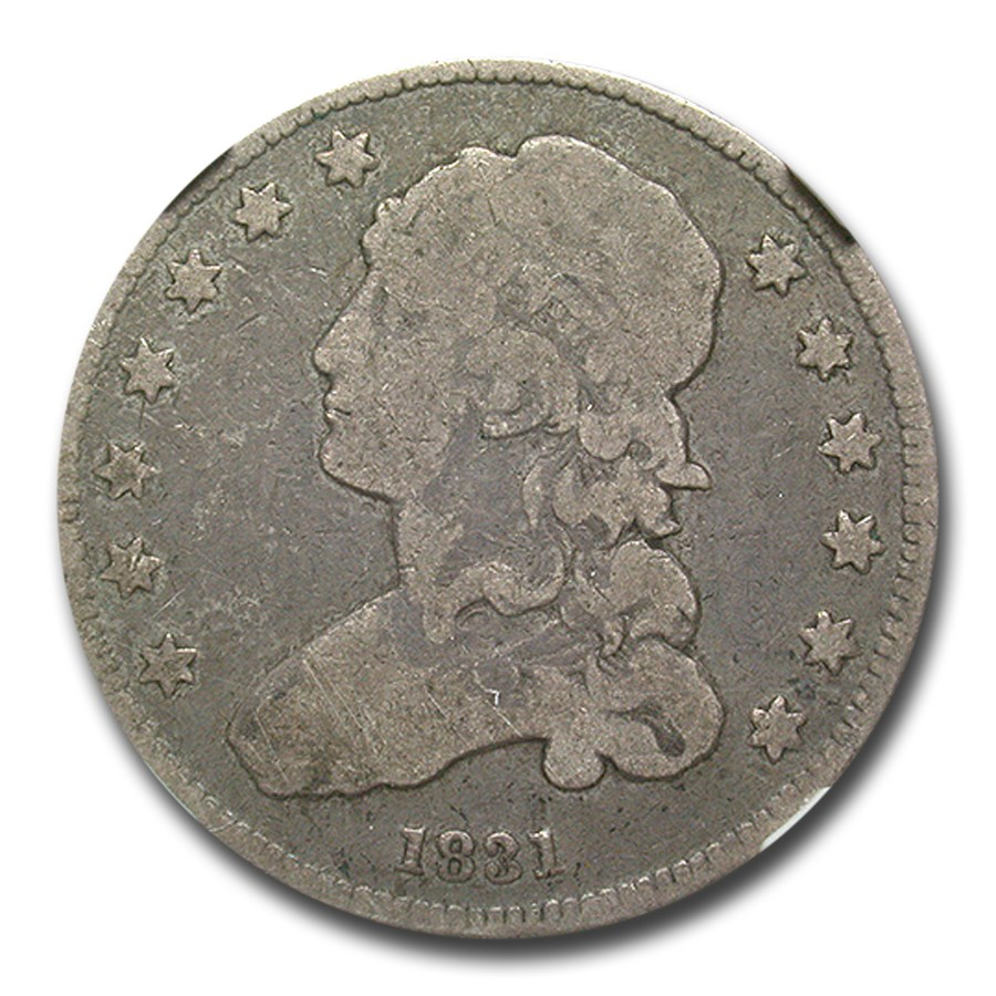 1831 Capped Bust Quarter VG-8 NGC