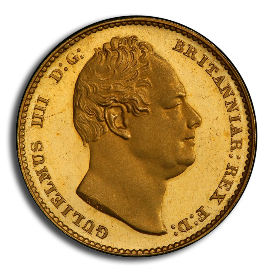 1831 Great Britain Gold Sovereign William IV PR-64DCAM PCGS