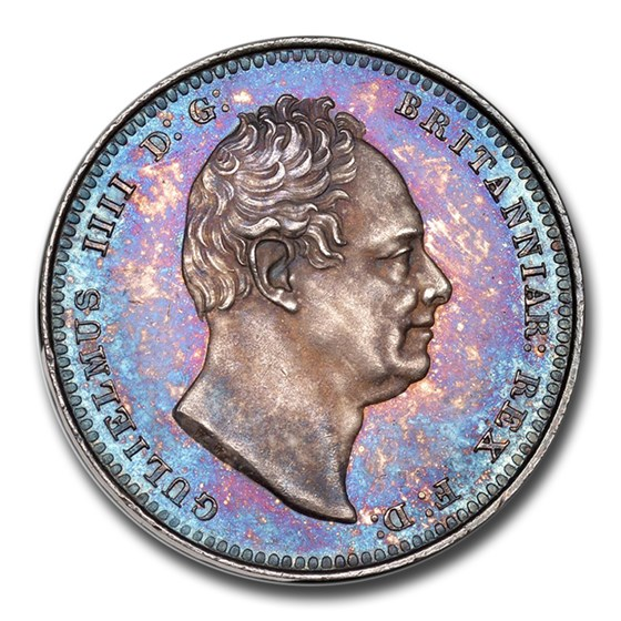 1831 Great Britain Silver Shilling William IV PR-65 NGC