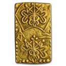 1832-1858 Japan Gold/Silver 2 Shu Rectangular XF