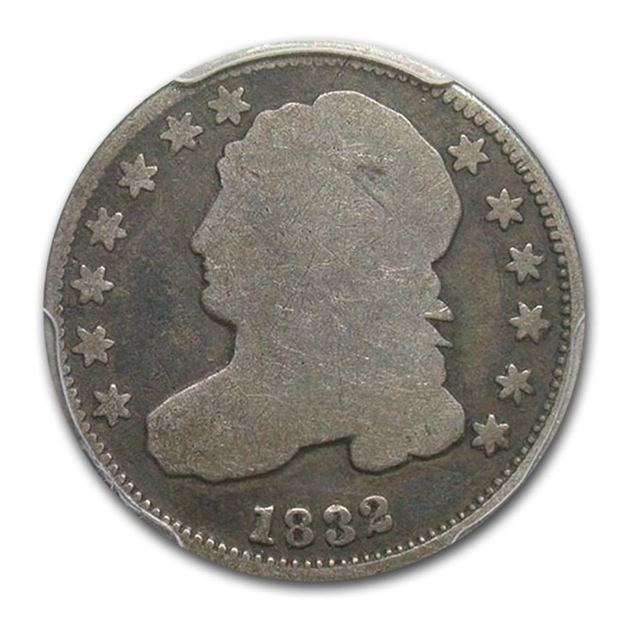 1832 Capped Bust Dime Good-4 PCGS (JR-3)