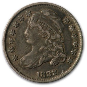 1832 Capped Bust Dime XF