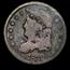 1832 Capped Bust Half Dime Fine (Details)