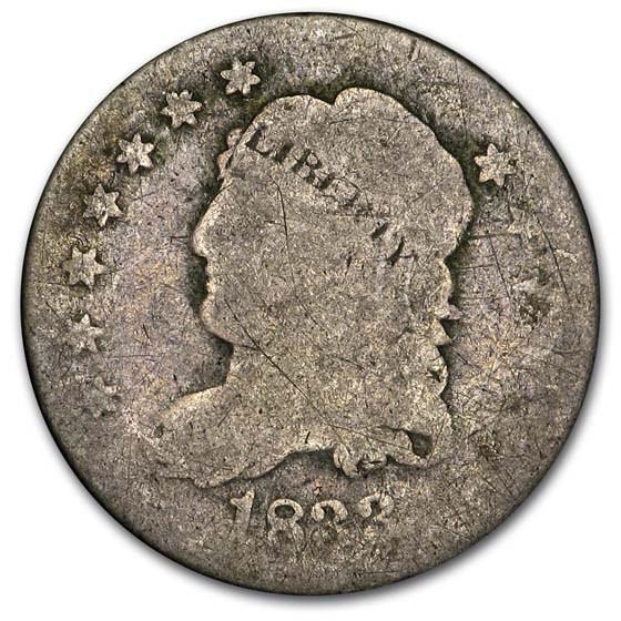 1833 Capped Bust Half Dime AG