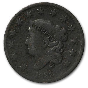 1833 Large Cent Good