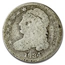 1834 Capped Bust Dime AG