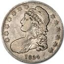 1834 Capped Bust Half Dollar Fine