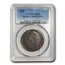 1834 Capped Bust Half Lg Date/Sm Letters XF-45 PCGS