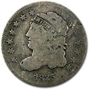 1835 Capped Bust Half Dime Small Date/Large 5¢ VG