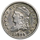 1835 Capped Bust Half Dime Small Date/Small 5¢ Fine