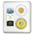 1836 $2.50 Lib Gold SS Central America VF-30 PCGS (Ship of Gold)