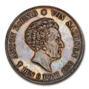 1836 German Saxony-Albertine Anton Silver Thaler MS-63 PCGS