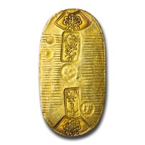 (1837-1858) Japan Tenpo Gold Koban, 1 Ryo XF