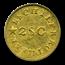 (1837-42) Gold $1 A. Bechtler AU-53 PCGS (N Reversed, Eliasberg)