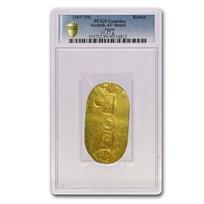 (1837-58) Japan Tenpo Gold Koban 1 Ryo AU-Dtls PCGS (Scratched)