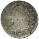 1837 Capped Bust Half Dime Large 5¢ AG