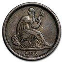 1837 Liberty Seated Dime Small Date XF