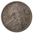 1837 Reeded Edge Half Dollar AU