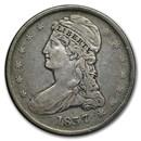 1837 Reeded Edge Half Dollar XF