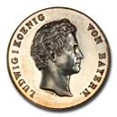 1838 German States Bavaria Ludwig I AR Medal SP-63 PCGS