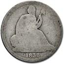 1838-O Liberty Seated Dime AG