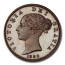 1839 Great Britain Bronzed Copper Halfpenny PR-65 PCGS