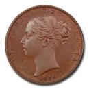 1839 Great Britain Copper Farthing PR-65+ PCGS