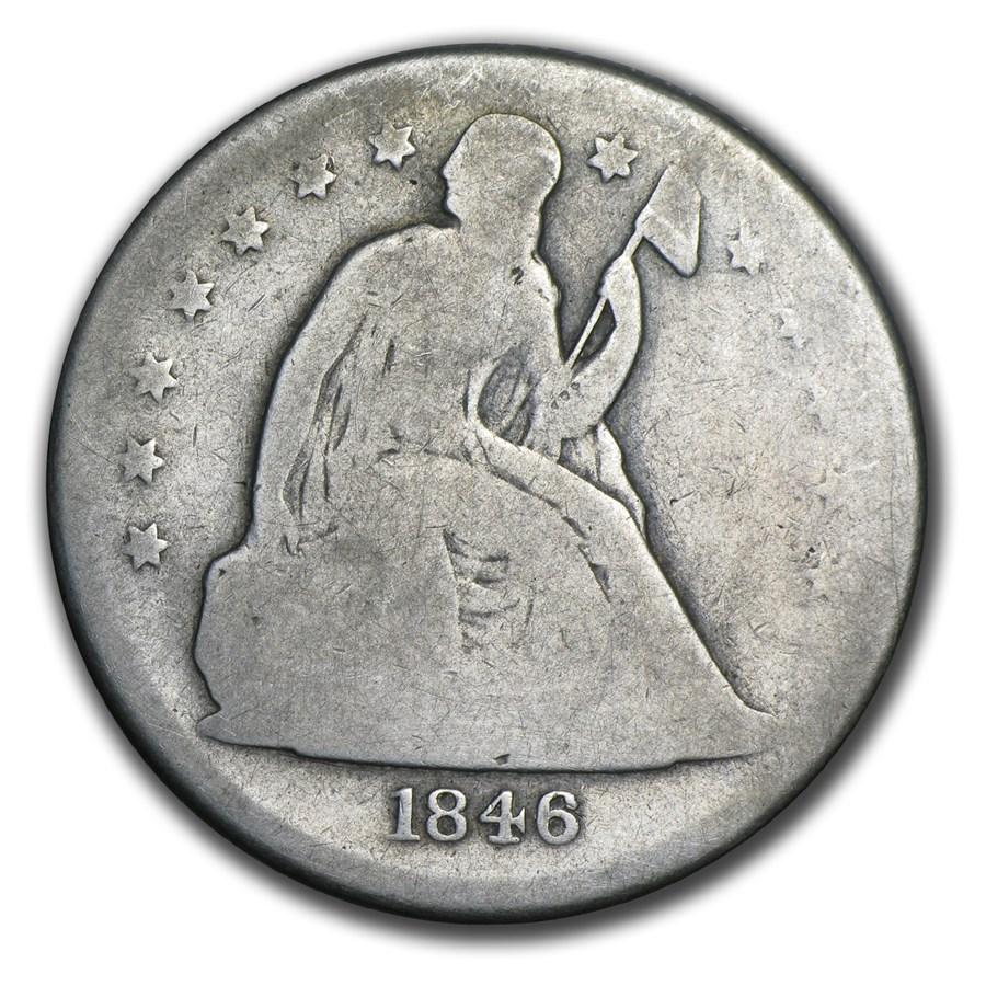 1840-1873 Liberty Seated Dollar AG