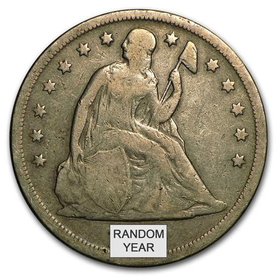 1840-1873 Liberty Seated Dollar Fine