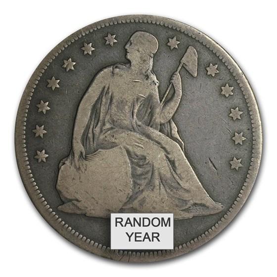 1840-1873 Liberty Seated Dollar VG