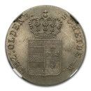 1840-S Germany/Oldenburg Silver 4 Grote MS-63 NGC