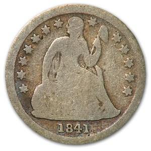 1841 Liberty Seated Dime Good