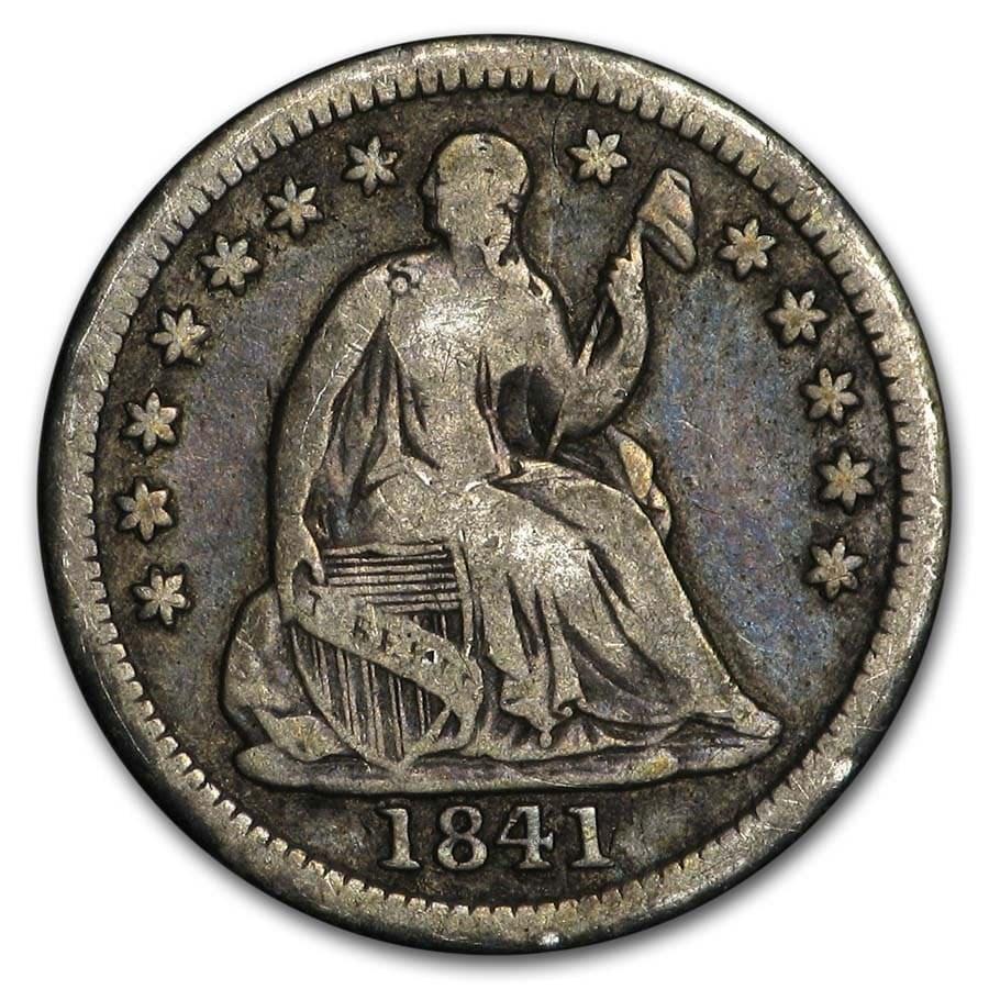 1841 Liberty Seated Half Dime VG