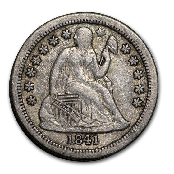 1841-O Liberty Seated Dime VF