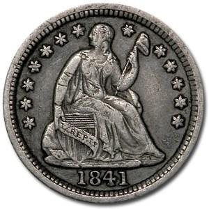 1841-O Liberty Seated Half Dime VF