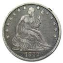 1842 Liberty Seated Half Dollar VF-20 NGC (Medium Date)