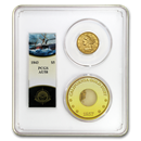 1843 $5 Lib Gold SS Central America AU-58 PCGS (Ship of Gold)