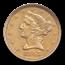 1843-O $5 Liberty Gold Half Eagle XF-40 NGC (Large Letters)