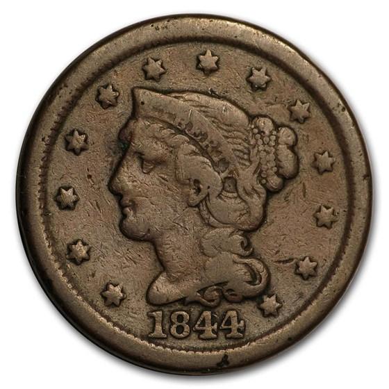 1844/81 Large Cent Fine