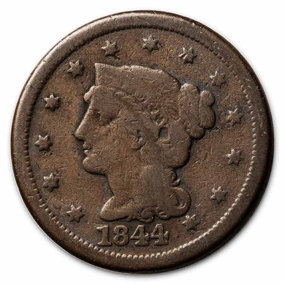 1844 Large Cent Good