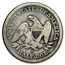 1844-O Liberty Seated Half Dollar Good